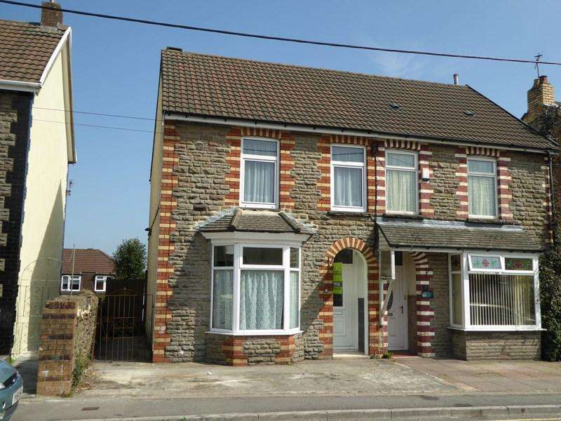 3 Bedrooms Semi Detached House for sale in Station Terrace, Caerphilly