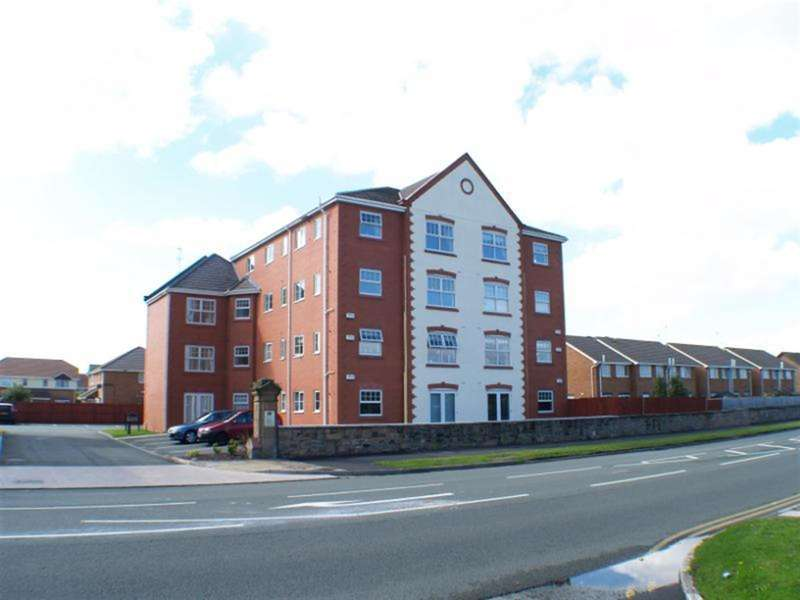 2 Bedrooms Flat for sale in Shannon House, Leasowe, Merseyside, CH463RT