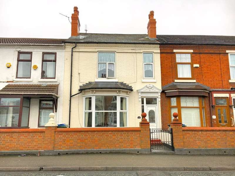 4 Bedrooms Terraced House for sale in BROMFORD LANE, WEST BROMWICH, WEST MIDLANDS, B70 7HS