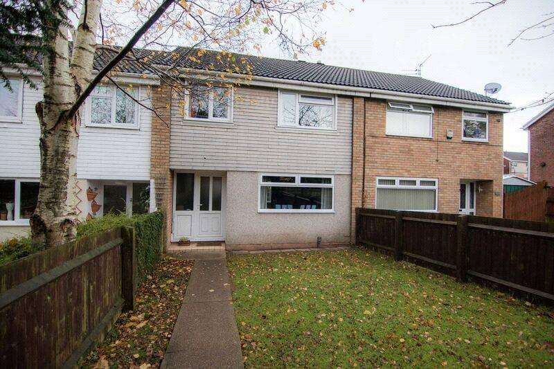 3 Bedrooms Terraced House for sale in Llwyn Castan, Pentwyn, Cardiff, CF23