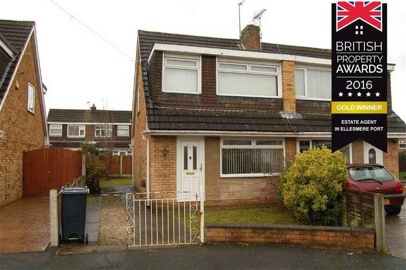 3 Bedrooms Semi Detached House for sale in Antrim Drive, Great Sutton, Ellesmere Port