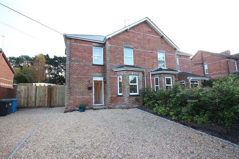 3 Bedrooms Semi Detached House for sale in Dunyeats Road, Broadstone