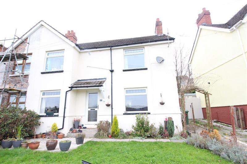 3 Bedrooms Semi Detached House for sale in Sunny Bank Terrace, Machen, Caerphilly