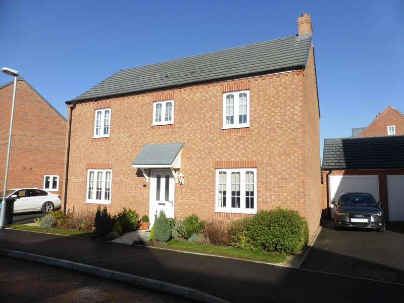 4 Bedrooms Detached House for sale in Wisteria Drive, Evesham