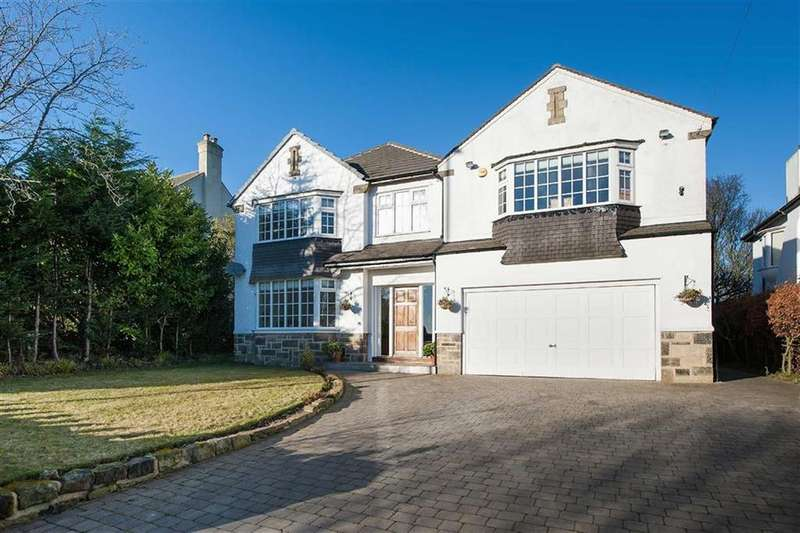 5 Bedrooms Detached House for sale in Alwoodley Lane, Alwoodley, LS17