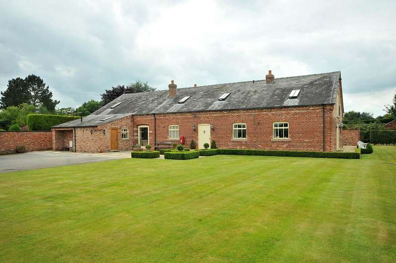 5 Bedrooms Barn Conversion Character Property for sale in Macclesfield Road, Holmes Chapel