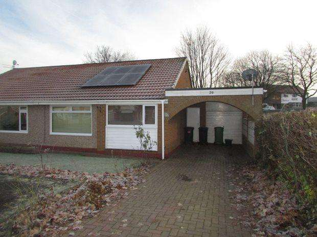 2 Bedrooms Semi Detached Bungalow for sale in BIRCHMERE, SPENNYMOOR, SPENNYMOOR DISTRICT