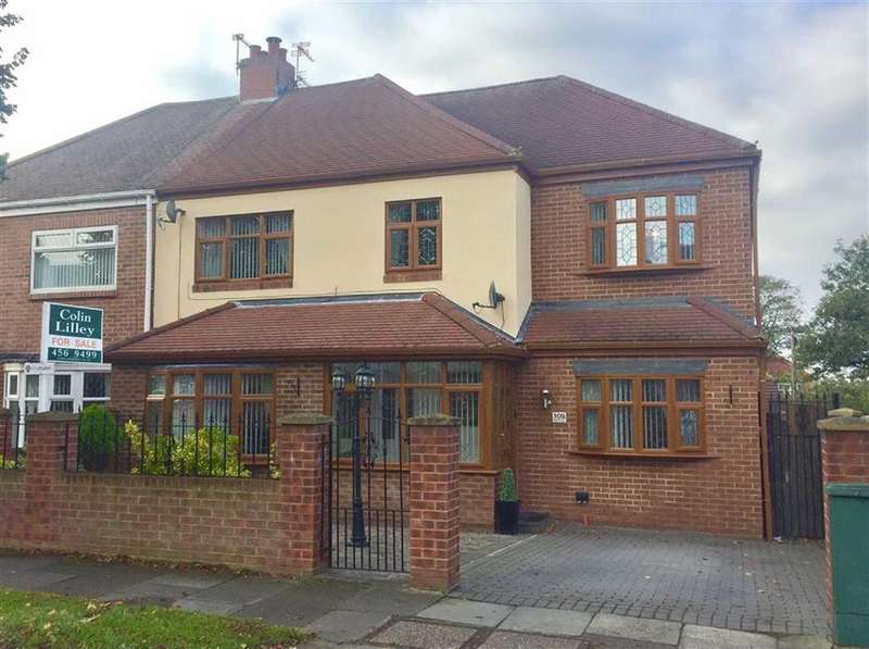 3 Bedrooms Semi Detached House for sale in West Avenue, South Shields