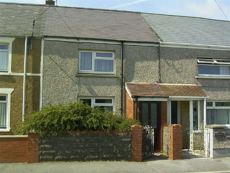 2 Bedrooms Terraced House for sale in Heol Llansaint, Llansaint