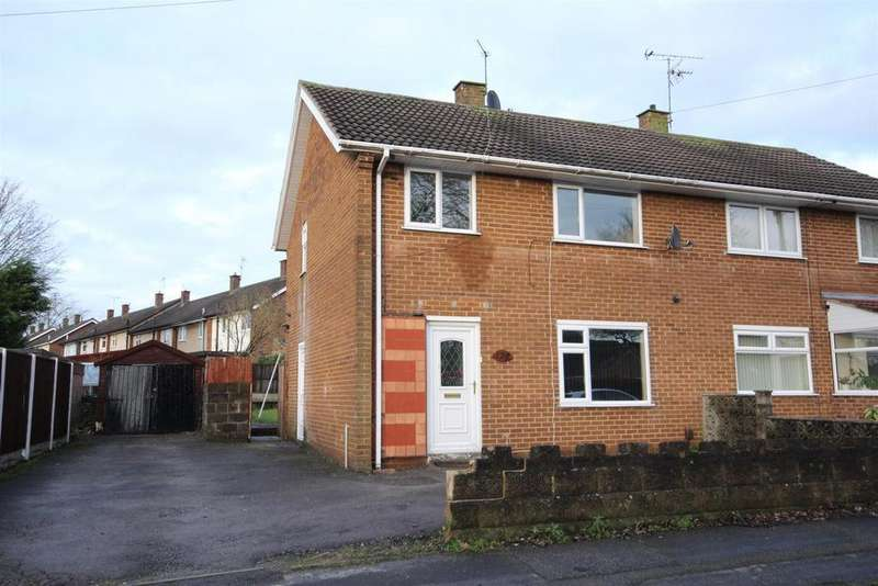 3 Bedrooms Semi Detached House for sale in Vicarage Road, Mickleover