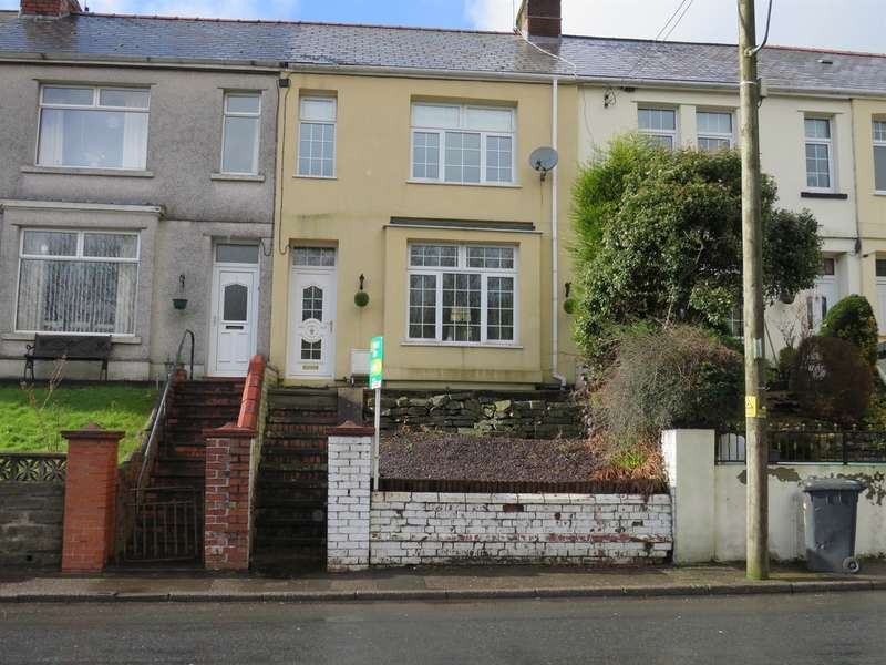 3 Bedrooms Terraced House for sale in Glen View, Hollybush, Blackwood