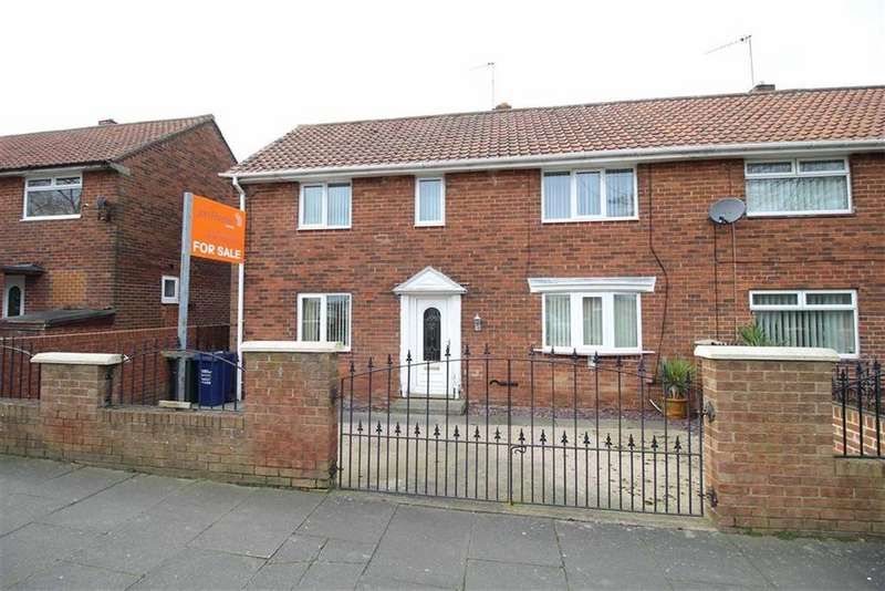 3 Bedrooms Semi Detached House for sale in Saxondale Road, Newcastle Upon Tyne, NE3