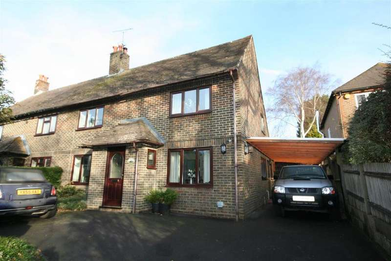 3 Bedrooms Semi Detached House for sale in Sands Lane, Small Dole,