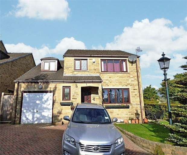 4 Bedrooms Detached House for sale in The Hayfields, Haworth, Keighley, West Yorkshire
