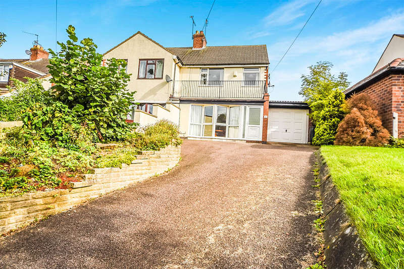 3 Bedrooms Semi Detached House for sale in Scotland Lane, Houghton-On-The-Hill, Leicester, LE7