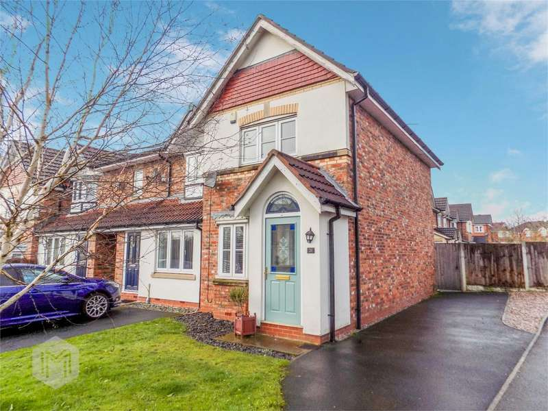 2 Bedrooms End Of Terrace House for sale in Springburn Close, Horwich, Bolton, Lancashire