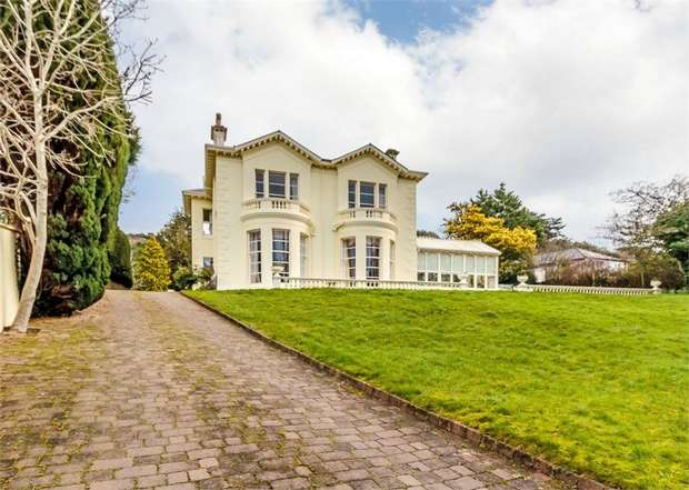 6 Bedrooms Detached House for sale in Middle Warberry Road, Torquay, Devon