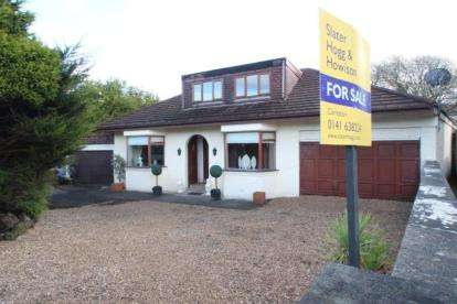 4 Bedrooms Bungalow for sale in Braidholm Road, Giffnock