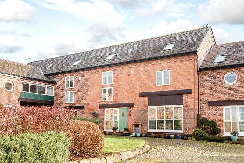 4 Bedrooms Barn Conversion Character Property for sale in Platts Lane, Hockenhull, Chester