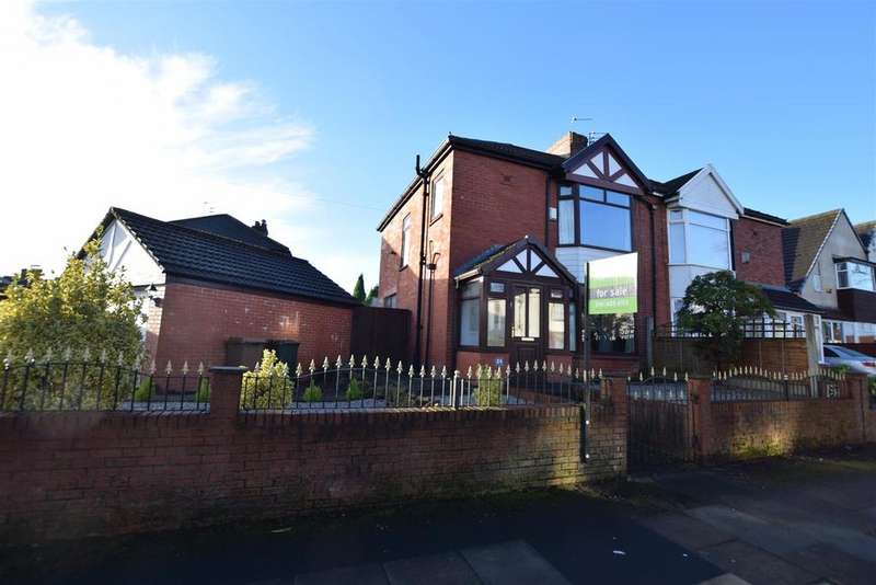 3 Bedrooms Semi Detached House for sale in Kingsway, Alkrington, Middleton