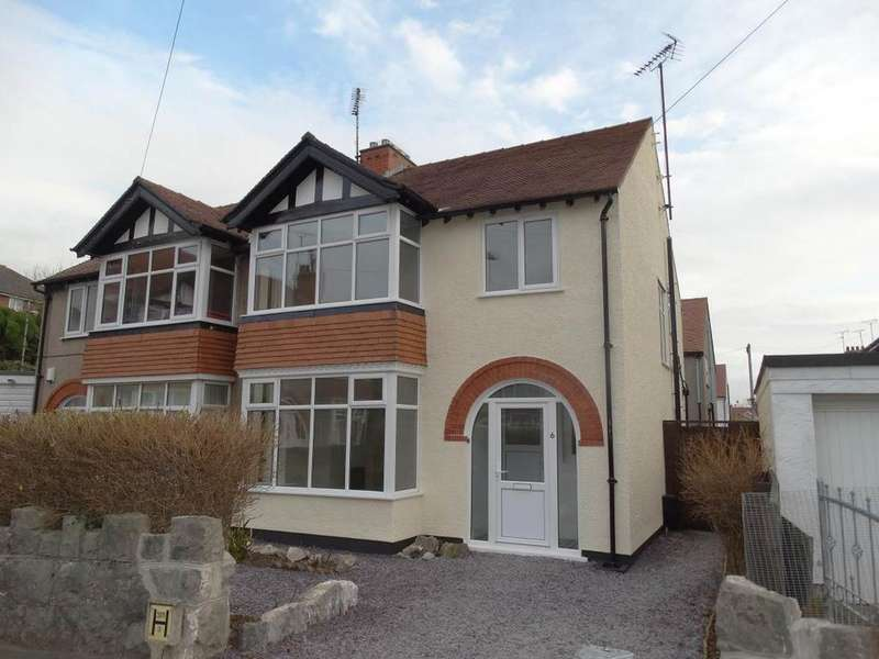 3 Bedrooms Semi Detached House for sale in 6 South Place, Rhos on Sea, LL28 4LU