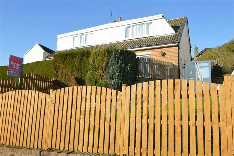 3 Bedrooms Semi Detached House for sale in Beechwood Ave, Shelf HX3, Halifax