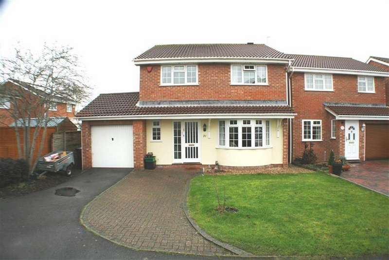 4 Bedrooms Detached House for sale in Finches Way, BURNHAM-ON-SEA, Burnham On Sea