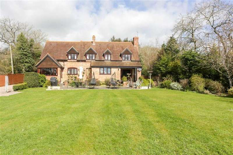 5 Bedrooms Detached House for sale in Hope Bagot Lane, Knowbury, Ludlow