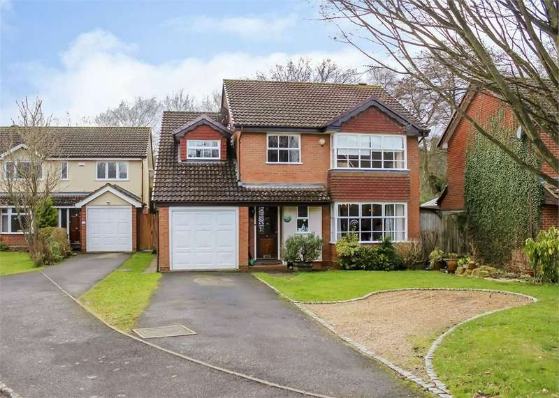 5 Bedrooms Detached House for sale in Woodford Green, The Warren, Bracknell, Berkshire