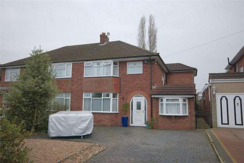 3 Bedrooms Semi Detached House for sale in Reddicap Heath Road, SUTTON COLDFIELD, West Midlands