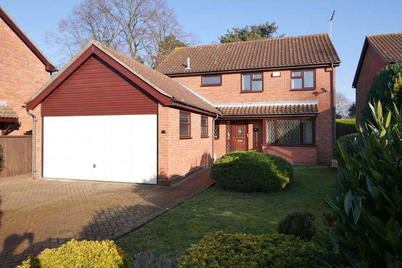 4 Bedrooms Detached House for sale in Grantham Crescent, Ipswich