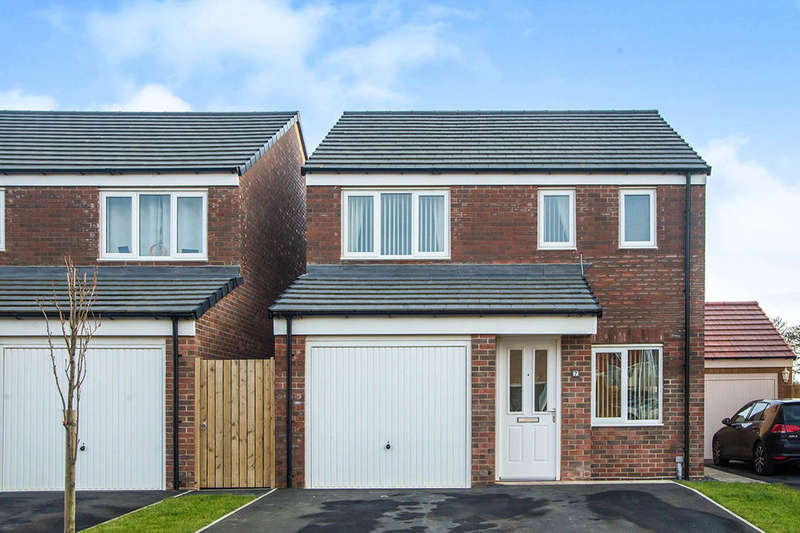 3 Bedrooms Detached House for sale in Alnwick Way, Amble , NE65