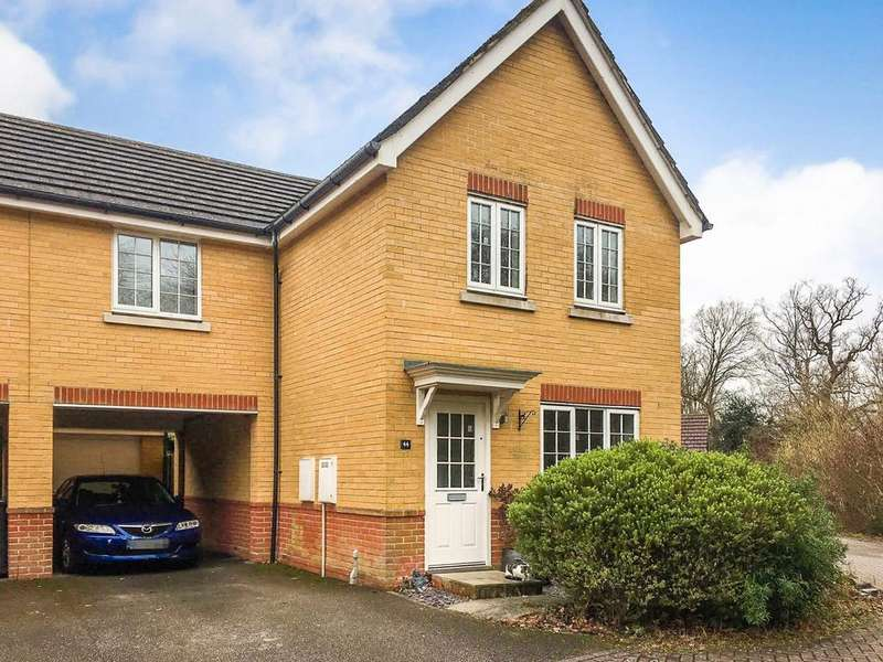 3 Bedrooms Link Detached House for sale in Maple Rise, Whiteley