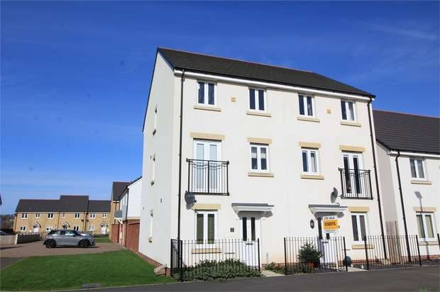 4 Bedrooms Semi Detached House for sale in Brinell Square, NEWPORT