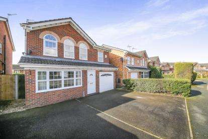 4 Bedrooms Detached House for sale in Minster Close, Winsford, Cheshire