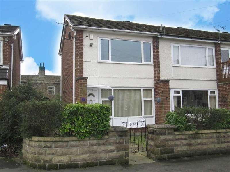 2 Bedrooms End Of Terrace House for sale in Greenfield Avenue, Oakes, Huddersfield, HD3