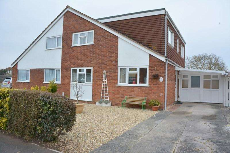 4 Bedrooms Semi Detached House for sale in Highburn Close, Burnham-On-Sea