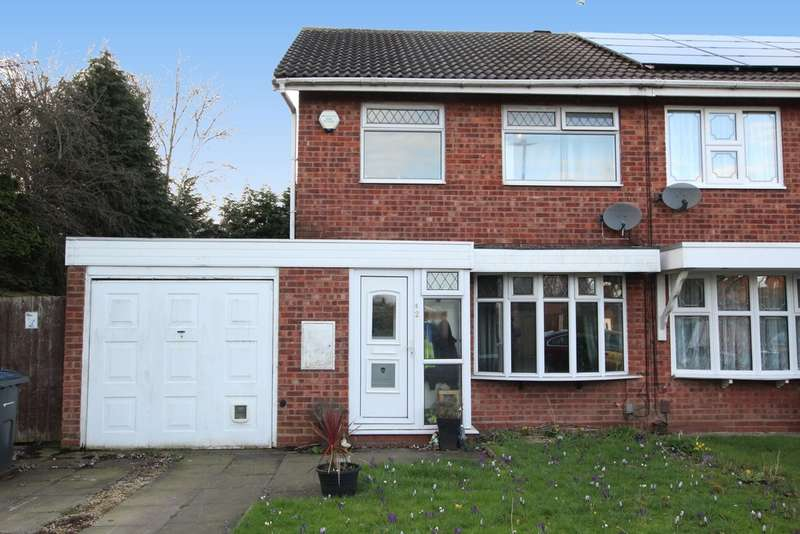 3 Bedrooms Semi Detached House for sale in Oxstall Close, Minworth, Sutton Coldfield. B76 9RF