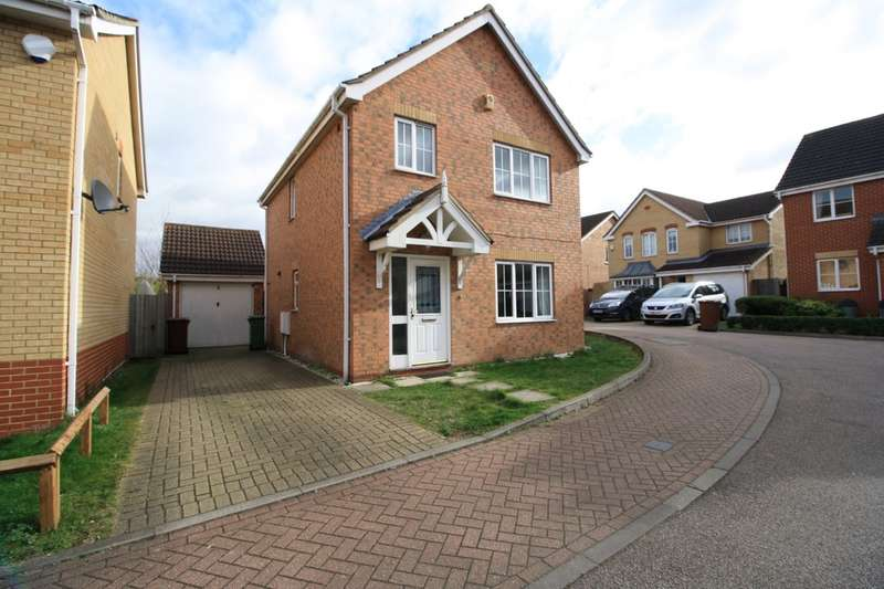 3 Bedrooms Detached House for sale in Edward Close, Chafford Hundred