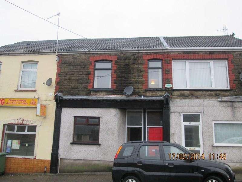 1 Bedroom Flat for sale in 19d High Street, Nantyffyllon, Maesteg, Bridgend. CF34 0BW