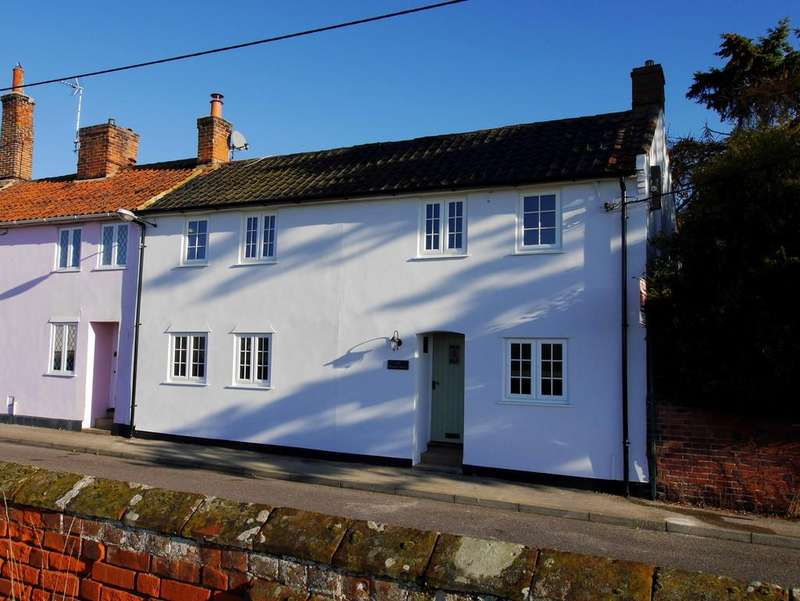 3 Bedrooms Semi Detached House for sale in Benton Street, Hadleigh, Ipswich, Suffolk. IP7 5AZ