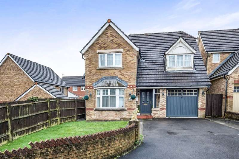 4 Bedrooms Detached House for sale in Heol Glynderwen, Waunceirch, Neath