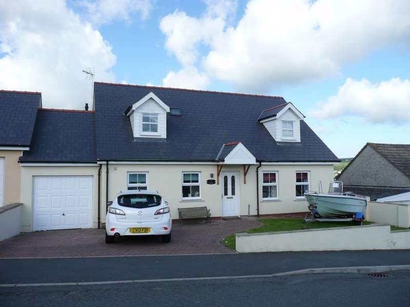 4 Bedrooms Detached Bungalow for sale in Ty Dewi, Bryn Elfed, Fishguard, Pembrokeshire