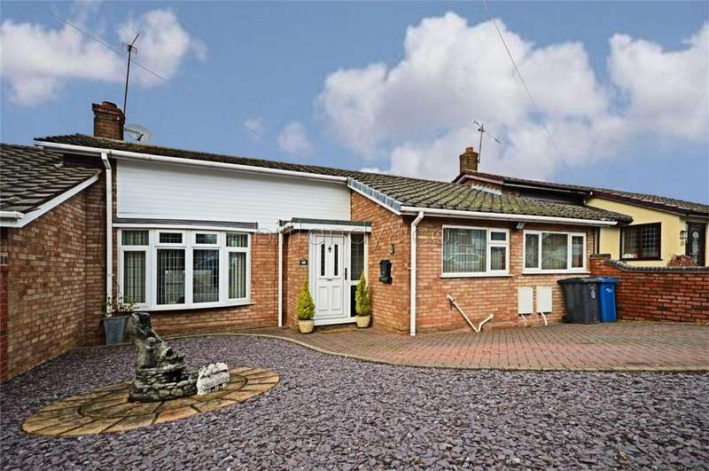 2 Bedrooms Terraced Bungalow for sale in Ashmead Road, Burntwood, Staffordshire