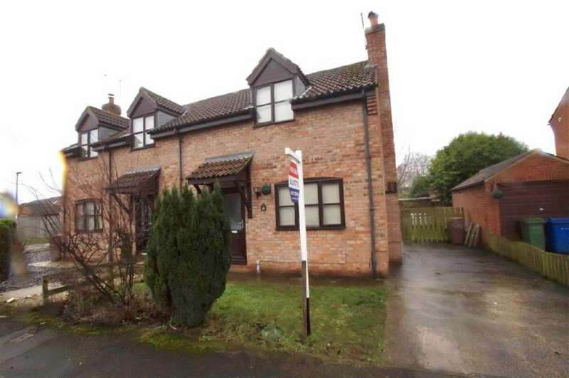 2 Bedrooms Semi Detached House for sale in Hymers Close, Brandesburton, East Yorkshire