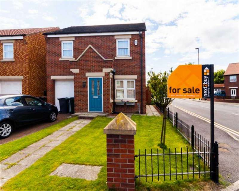3 Bedrooms Detached House for sale in Wiltshire Gardens, Wallsend, Tyne And Wear, NE28