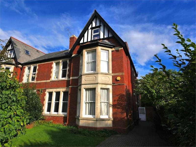7 Bedrooms Semi Detached House for sale in Salisbury Avenue, Penarth