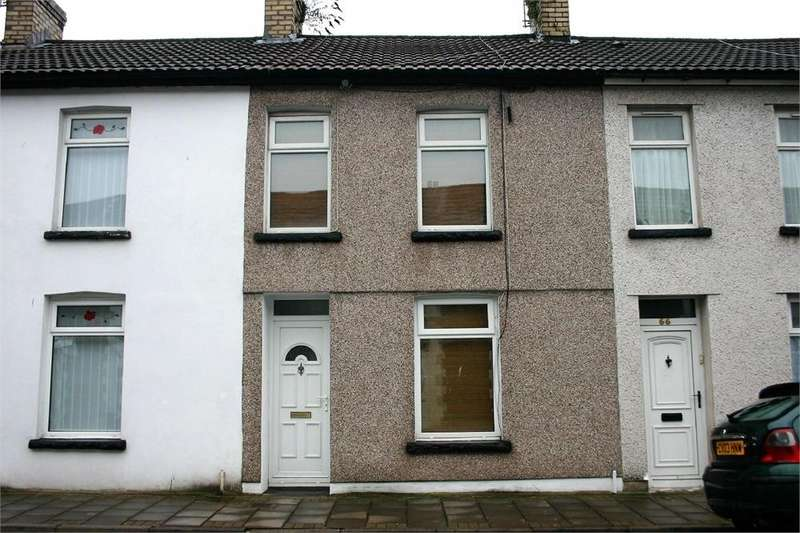 2 Bedrooms Terraced House for sale in East Street, Trallwng, Pontypridd, Mid Glamorgan