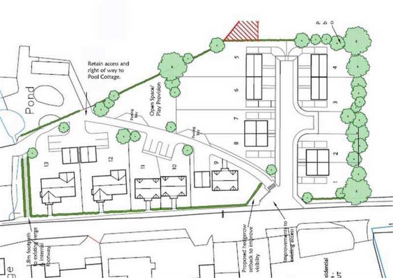Land Commercial for sale in Hengoed, Oswestry, SY10