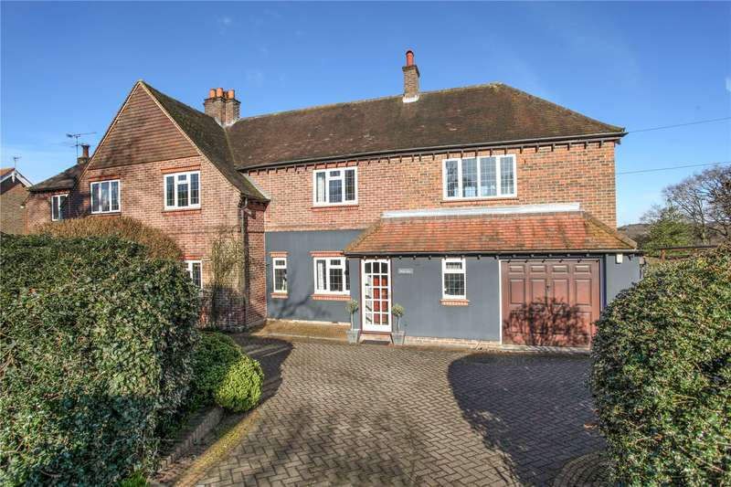 4 Bedrooms Semi Detached House for sale in Goose Rye Road, Worplesdon, Guildford, Surrey, GU3